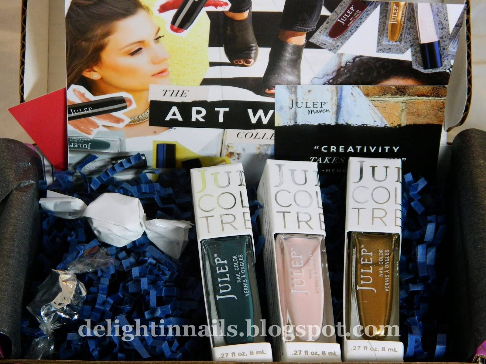 Julep September 2014 It Girl Box