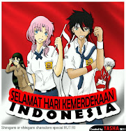 Happy Independence Day of Indonesia