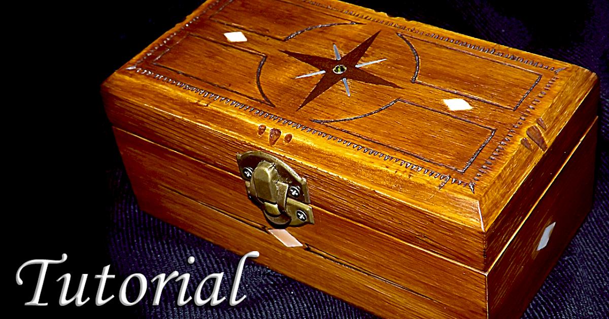 El taller de la inventiva como decorar una caja de madera - Hacer una caja de madera ...