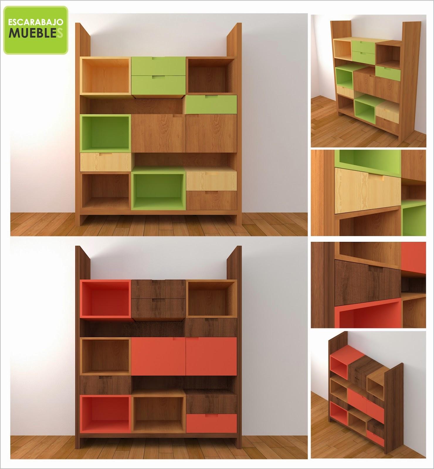 Linea collage escarabajo muebles for Compra de muebles en linea