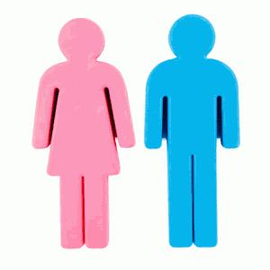 Sexy hombre y mujer