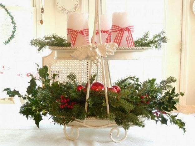 Addobbi natalizi fai da te con il riciclo creativo 5 idee - Centrotavola natalizio idee ...