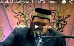 Ustadz M Iqbal Hasan, S HI MTQ Internasional Iran 2013