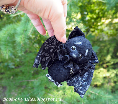 sweet tiny handmade bat