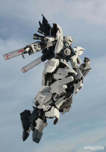 Sinanju Stein Super Details Gundam Unicorn Episode