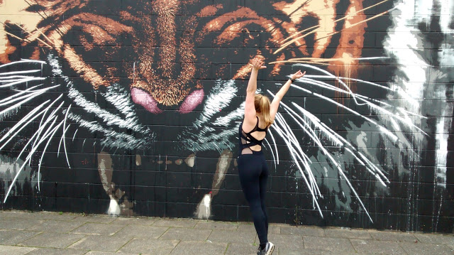 Klingatron Tiger Graffiti Glasgow