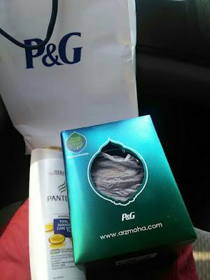 hadiah dari P&G, Menang #katatakterkata, Shampoo Pantene, balang kuih raya,