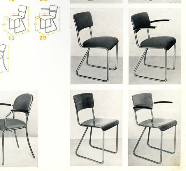 Gispen 213 school leraren stoel dutch design chair for Dutch design stoel