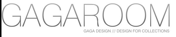 GAGAROOM | GRAPHIC DESIGNER