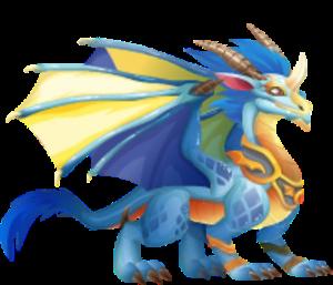 imagen del dragon mascota deus