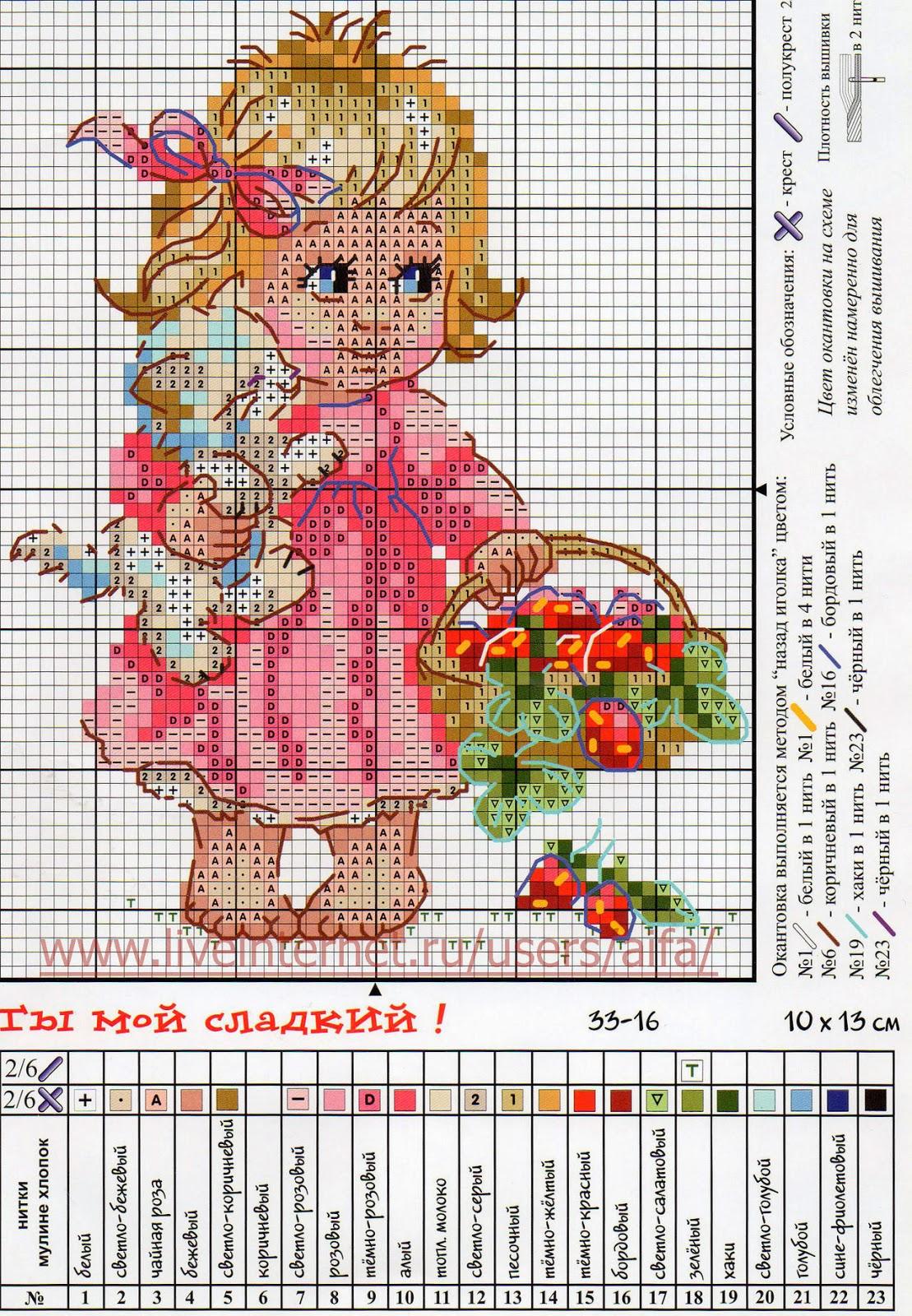 Детские схемы для вышивания крестом 25 штук, детские схемы для 100