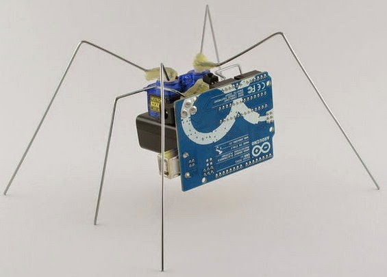 Cara membuat robot laba dengan arduino uno ir
