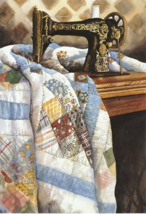 Patchwork Quilt by Carolyn Watson