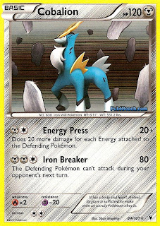 Cobalion Pokemon Card Noble Victories Set