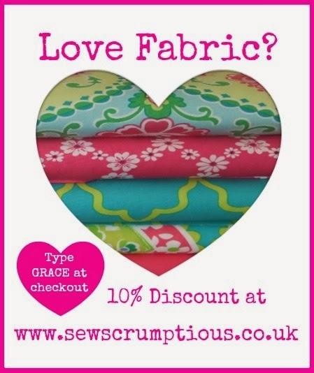 10% off Sew Scrumptious Fabrics