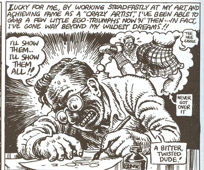 Robert Crumb A Biography Part Iv Crumbs Of Crumb