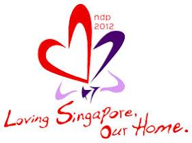 Logo & Tema Merdeka Singapura, Indonesia, dan Malaysia 2012