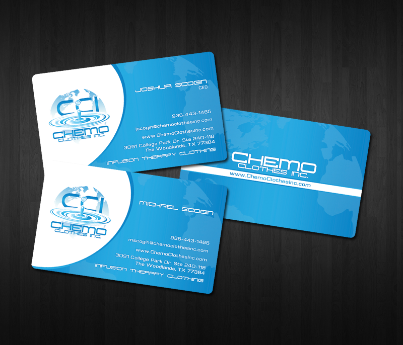 BUSINESS CARD DESIGN FOR CLOTHING COMPANY | WHIM DESIGN PLACE