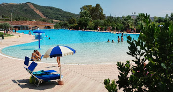 la piscina di Ortacesus