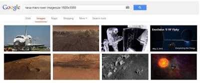 TechnoHackzs Search the Google Images By the Exact Dimensions