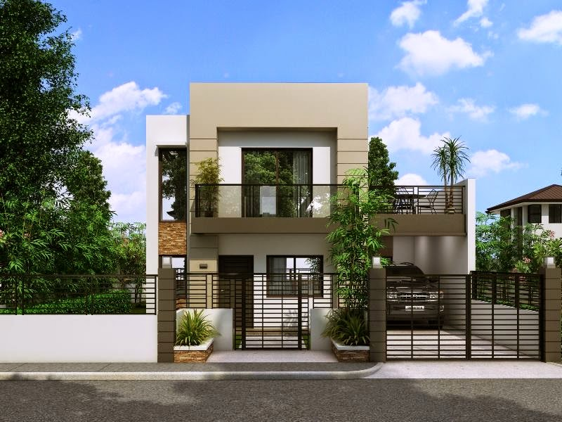 Beautiful And Simple 2 Storey on box type house design philippines