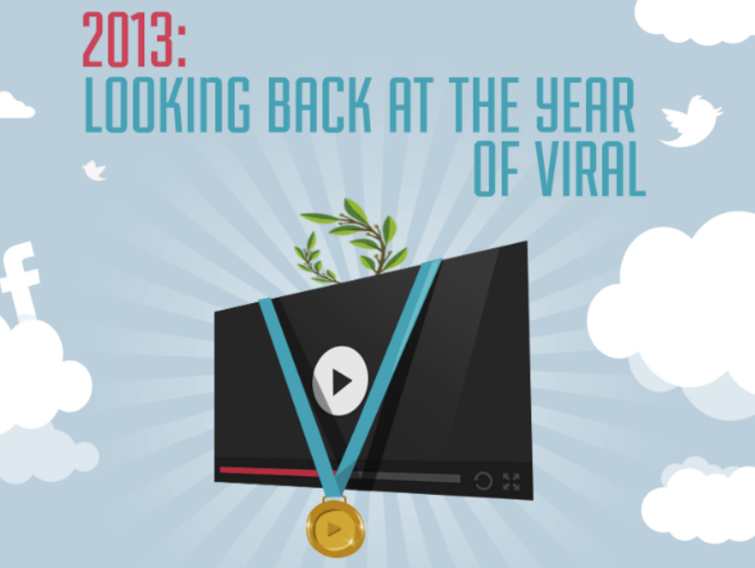 2013: Looking Back At The Top Videos, Brands And Sectors [INFOGRAPHIC]