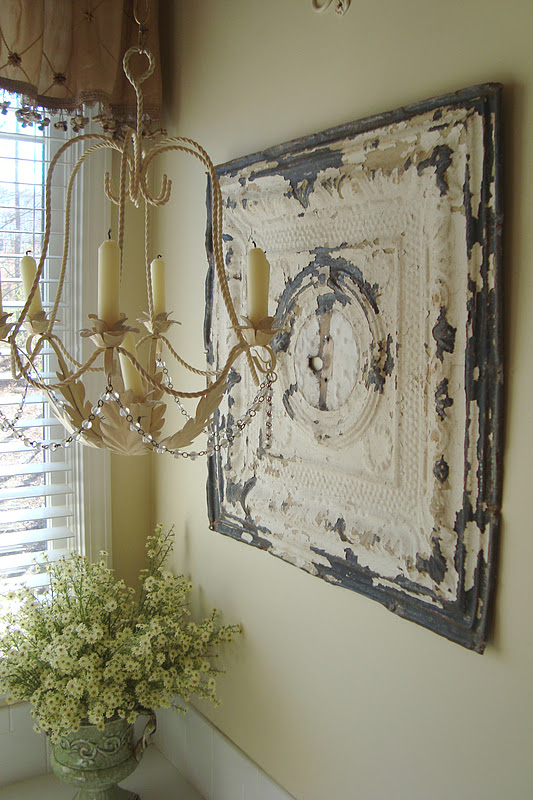 Tin Wall Decor Vintage : The essence of home decorating with old salvage