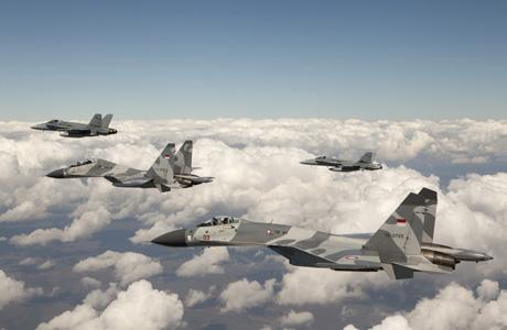 TNI-AU Su-27