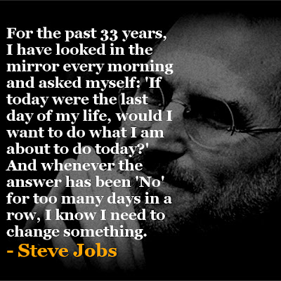 Steve Jobs If I Were to Die Today