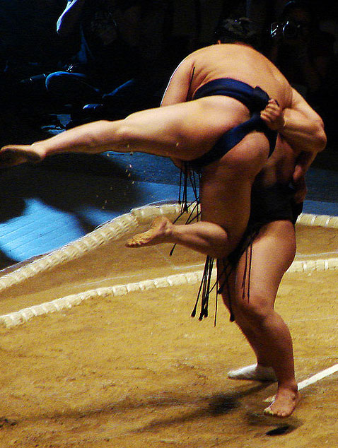 Grand Sumo Tournament, 10th - 24th March at Osaka