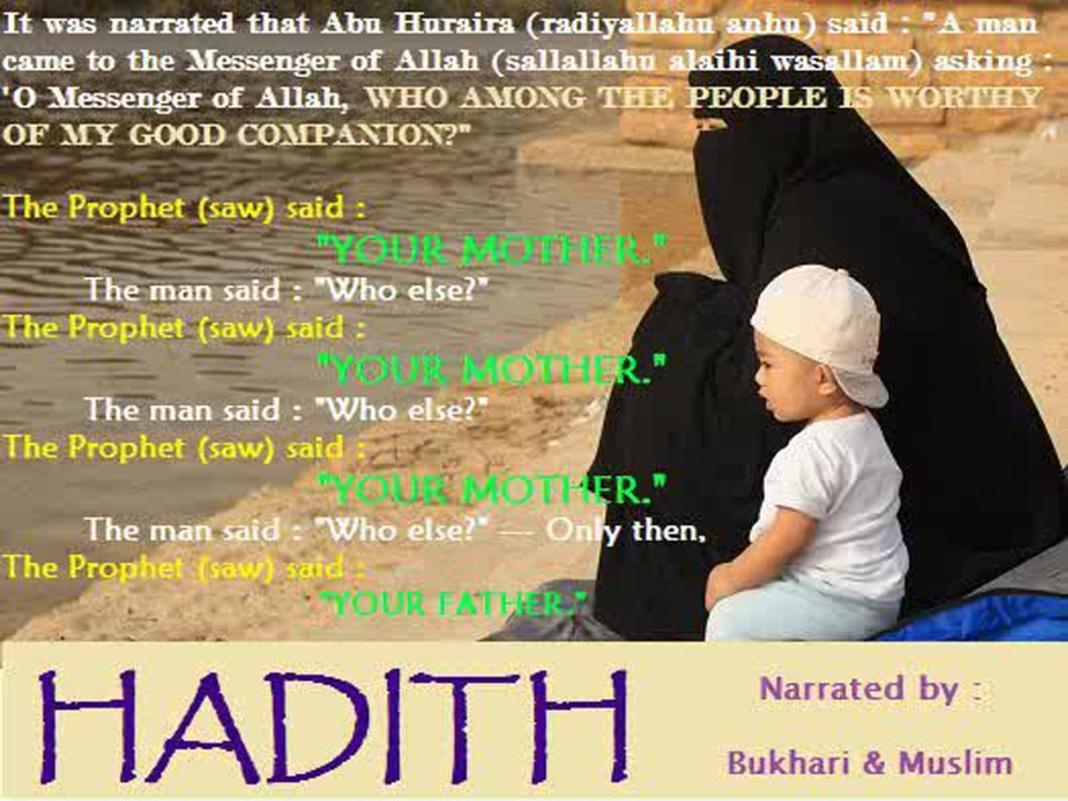 maa hadith