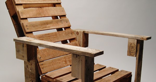 Sillas de jard n hechas con palets de madera - Sillas hechas con palets ...
