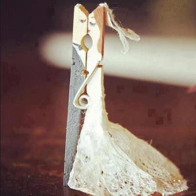 Lembrancinhas de Casamento: pregadores