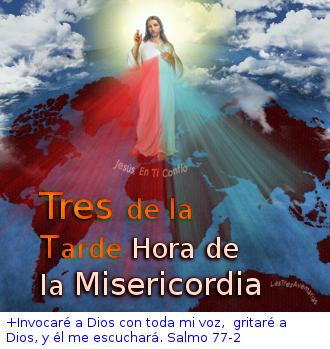 divina misericordia recorndando la hora 3 hora de misericorida