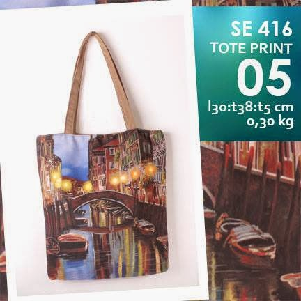 jual online tote bag kanvas murah full printing bridge