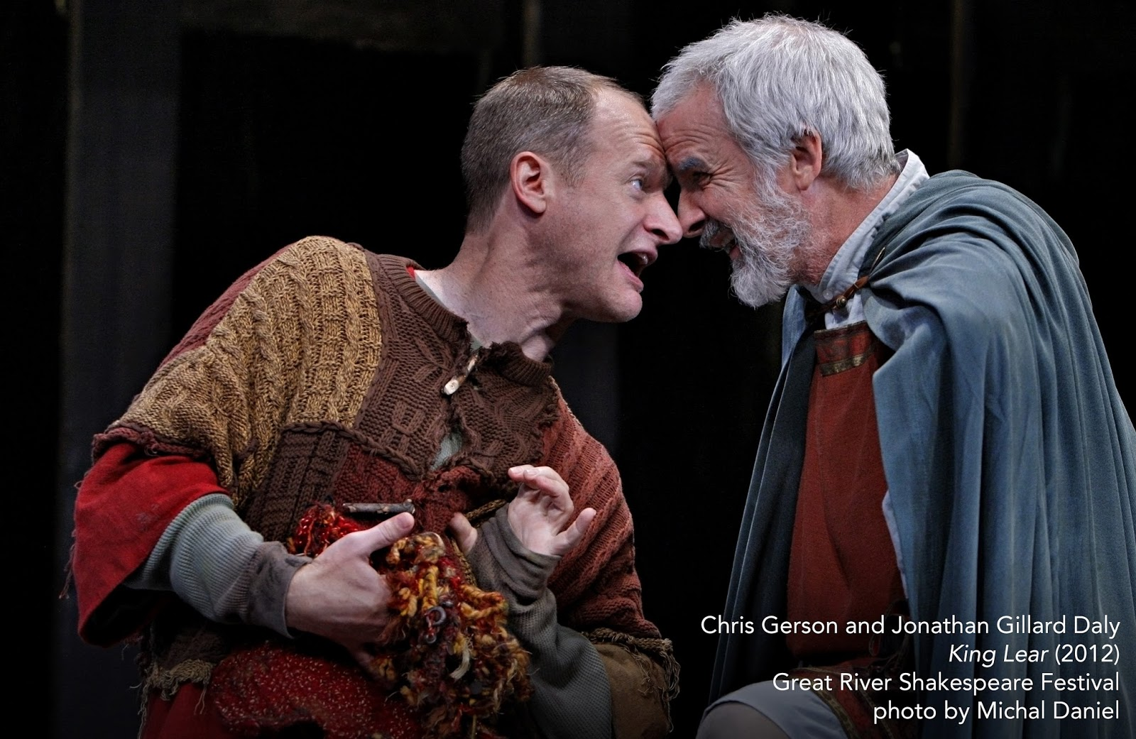 fool and lear Lear's fool, attached as he is to lear, becomes a spokesperson for the humanity lacking in lear's outrageously self-centered court feste, in some ways darker than the fool, both upholds the fairy-tale nature of illyria and criticizes it.