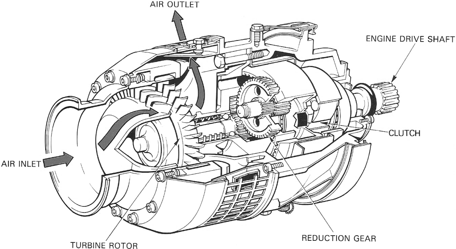T700 Engine Cutaway Wiring Diagram And Fuse Box  T700 Engine Parts, T700, Free Engine Image For User Manual