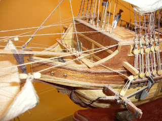 modelismo naval: galeón San Francisco de Artesanía Latina