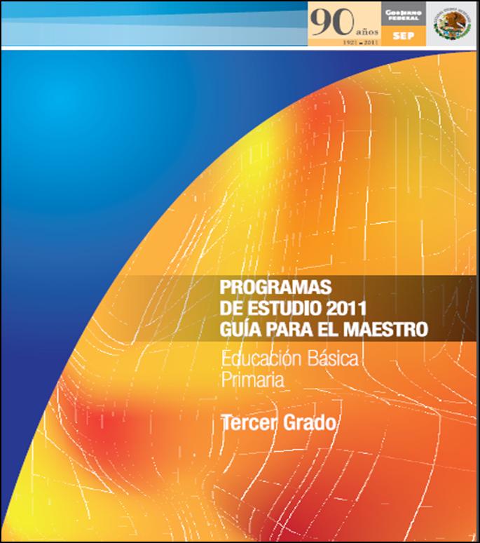 Programa de Estudios 2011 para Tercer Grado