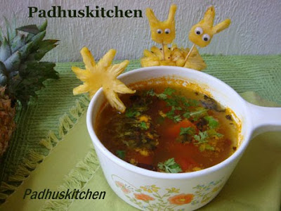 Pineapple Rasam Recipe