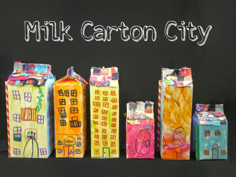 milk carton city