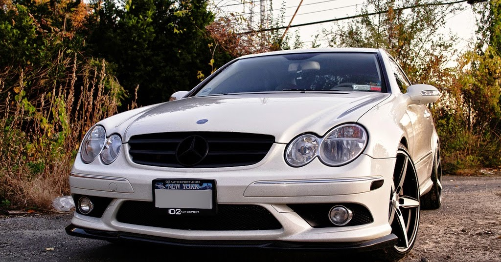 Mercedes benz clk550 w209 tuning on d2forged wheels for R h mercedes benz