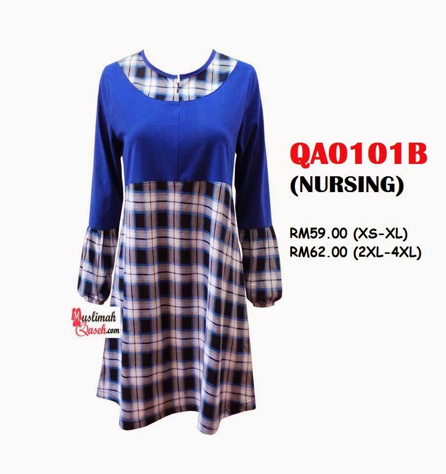 T-Shirt-Muslimah-Qaseh-QA0101B