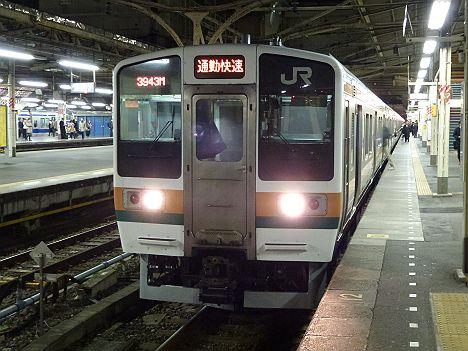 高崎線 通勤快速 前橋行き 211系