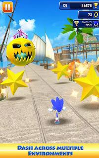 صورة من لعبة Sonic Dash