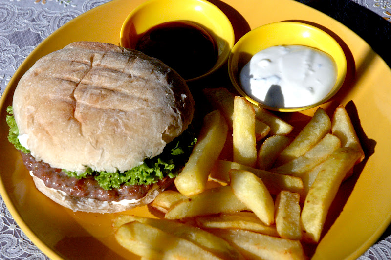 DUDE FOR FOOD: Ever Tried a Balkan Burger?