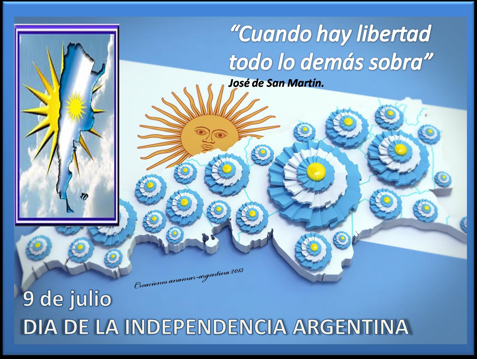 D a de la independencia argentina 9 de julio imagenes for Decoracion 9 de julio