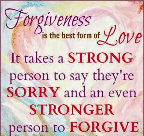 Forgiveness is the best revenge...