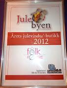 Årets julebutikk 2012