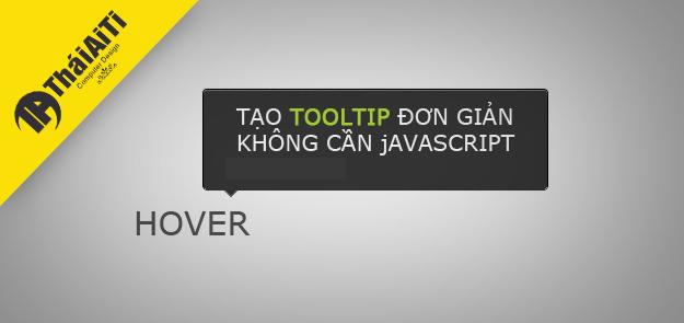 Thủ thuật CSS hiển thị ToolTip liên kết khi dê chuột vào link